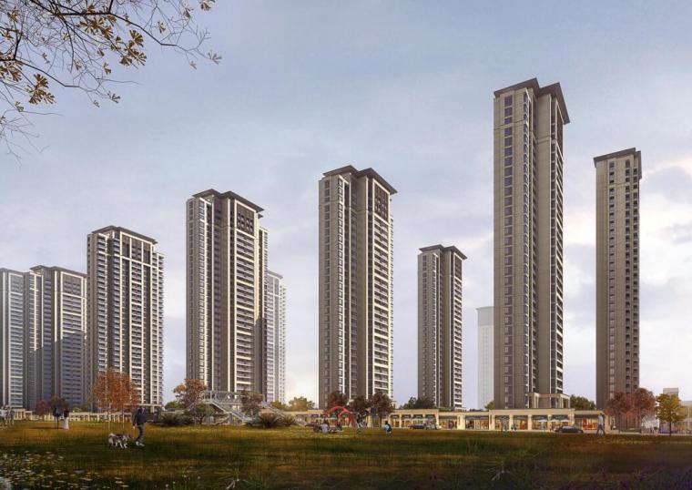 [福建]新中式风高层+洋房住宅建筑投标方案_3