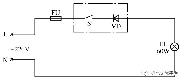 3开关控1灯怎么连线附36种照明控制原理图_9