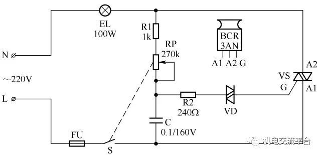3开关控1灯怎么连线附36种照明控制原理图_12
