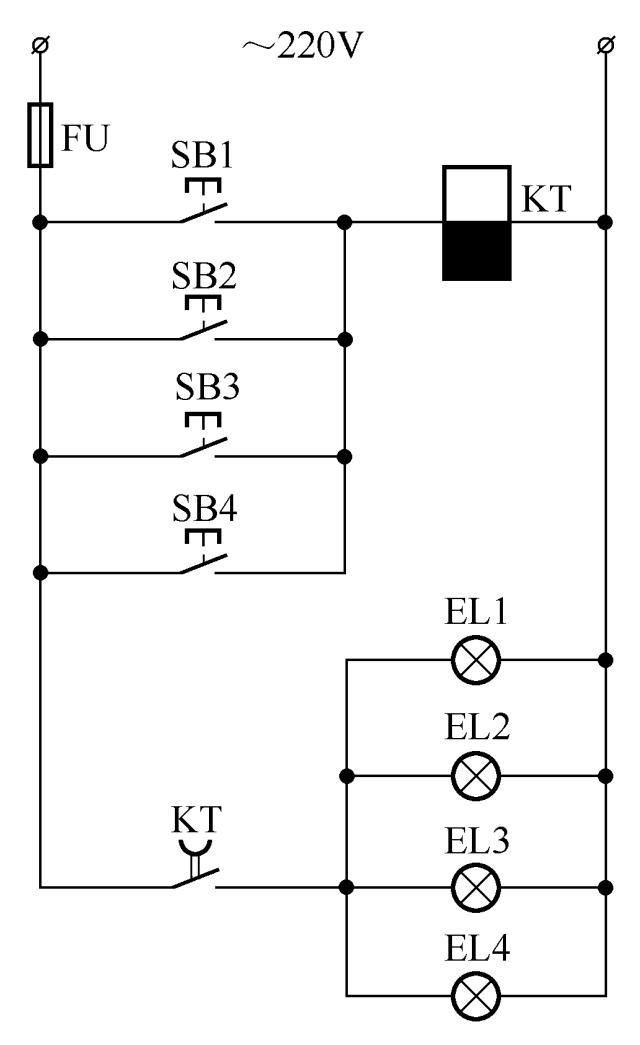 3开关控1灯怎么连线附36种照明控制原理图_15