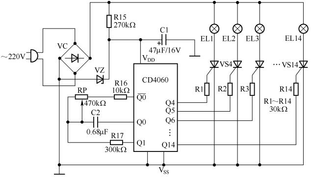 3开关控1灯怎么连线附36种照明控制原理图_22