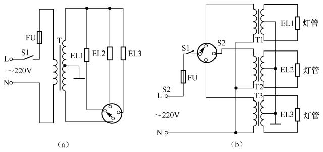 3开关控1灯怎么连线附36种照明控制原理图_29