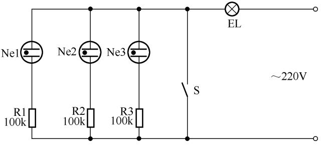 3开关控1灯怎么连线附36种照明控制原理图_27