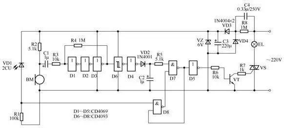 3开关控1灯怎么连线附36种照明控制原理图_33