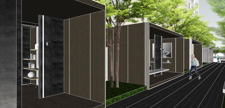 越秀苏州现代轻奢风格景观模型设计_6
