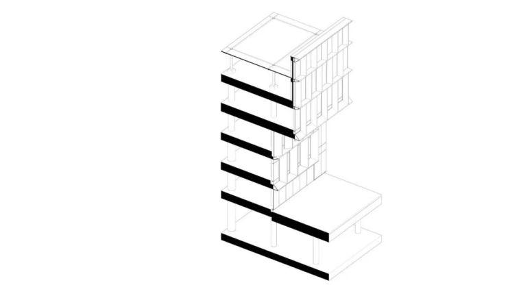 四个精美盒子,立面设计超越了单纯的审美_53