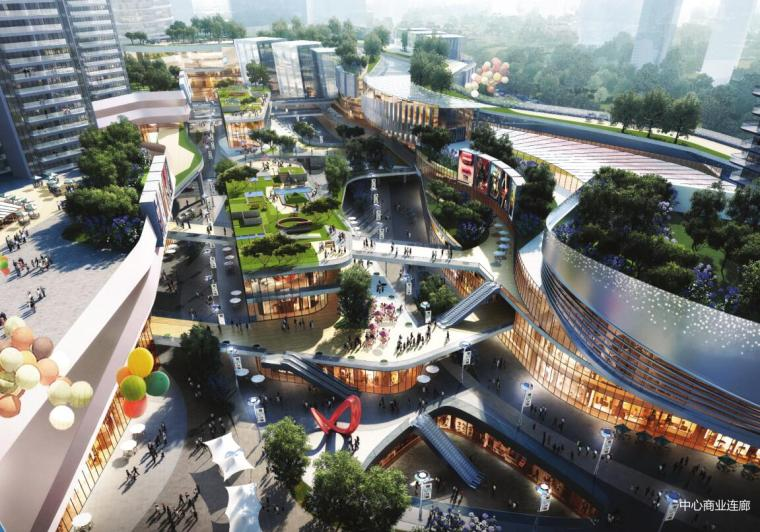 江西现代国际化+低碳生态商业+住宅公寓方案_2