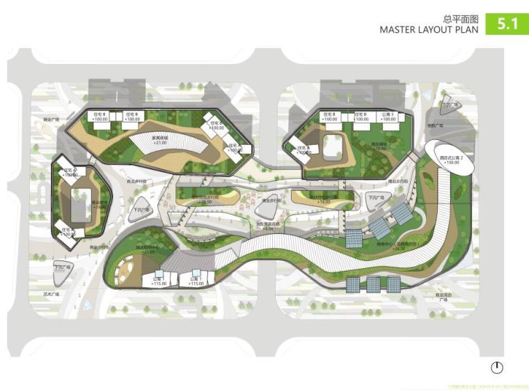 江西现代国际化+低碳生态商业+住宅公寓方案_3
