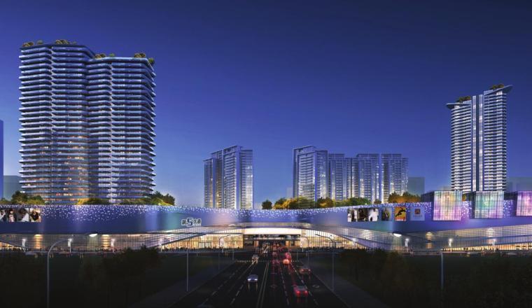 江西现代国际化+低碳生态商业+住宅公寓方案_10