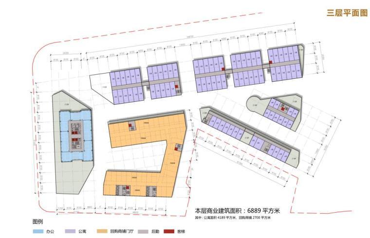 [湖北]高端全能共享社区商业综合体建筑方案_11