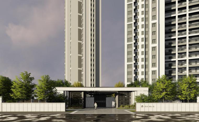[福建]现代风格+素雅清新住宅景观成果方案_3