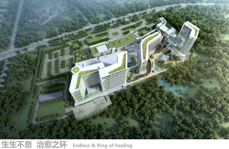 [广东]现代化生态肿瘤医院建筑设计文本PPT(_2
