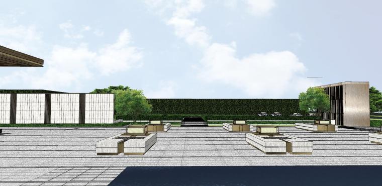 浙江新中式万象府示范区建筑和景观模型设计_11