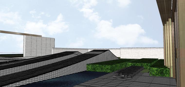 浙江新中式万象府示范区建筑和景观模型设计_9