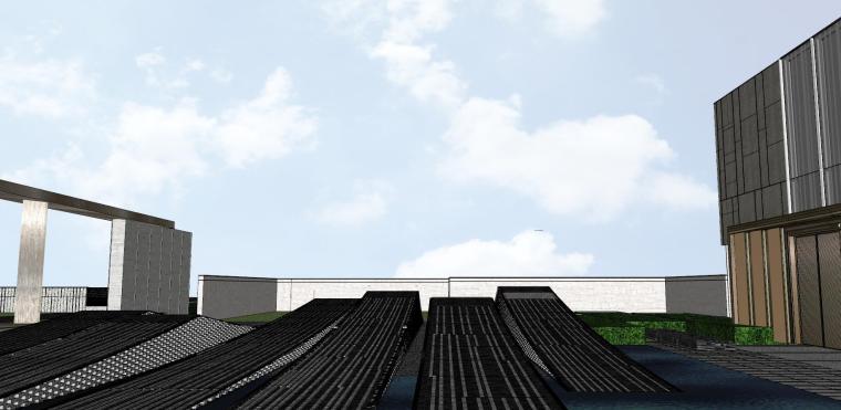 浙江新中式万象府示范区建筑和景观模型设计_8
