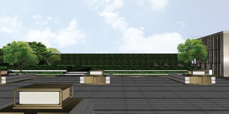 浙江新中式万象府示范区建筑和景观模型设计_13