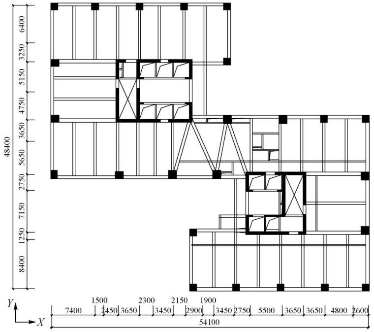 环球财富大厦地下室混凝土结构温差效应分析_2