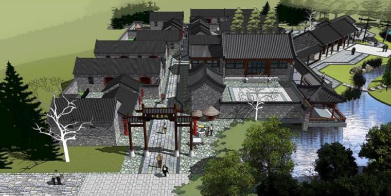 [山东]长寿山温泉度假区规划设计方案_6