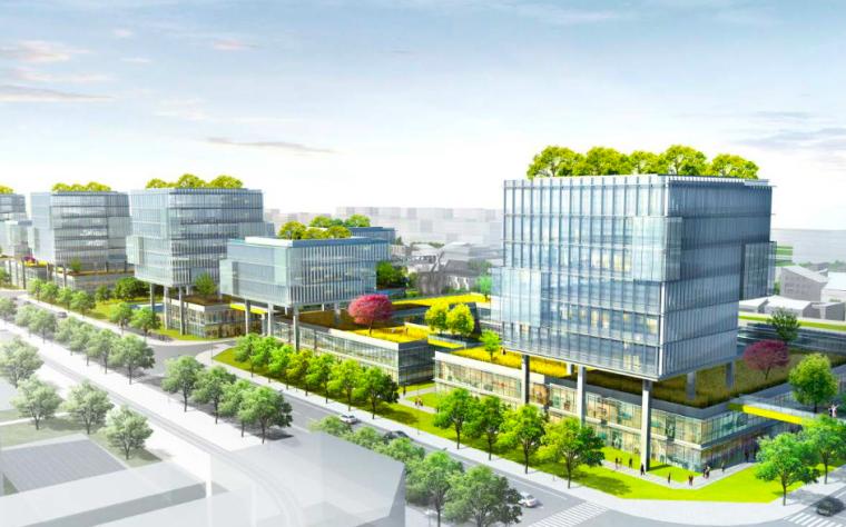 [浙江]湖州高新技术绿色智能制造产业园设计_20