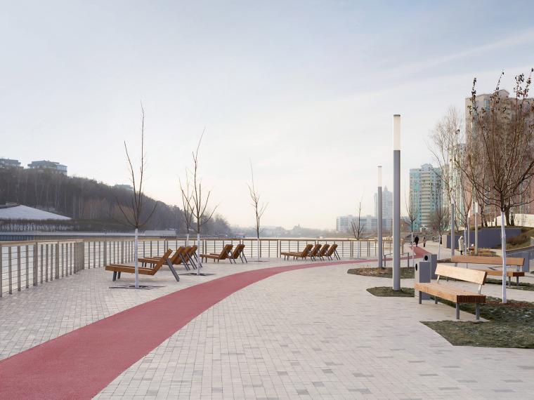 俄罗斯高密度住宅区堤岸景观规划_23