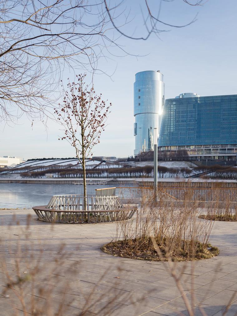 俄罗斯高密度住宅区堤岸景观规划_28
