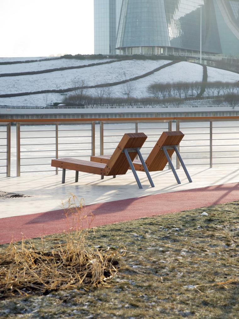 俄罗斯高密度住宅区堤岸景观规划_26