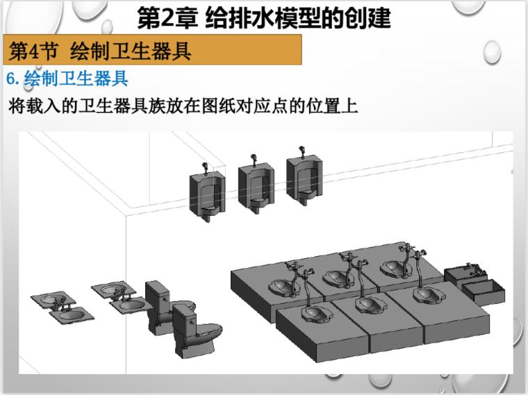BIM机电模型的创建实操教程-软件计价给排水模型的创建实操教程(31页)_3