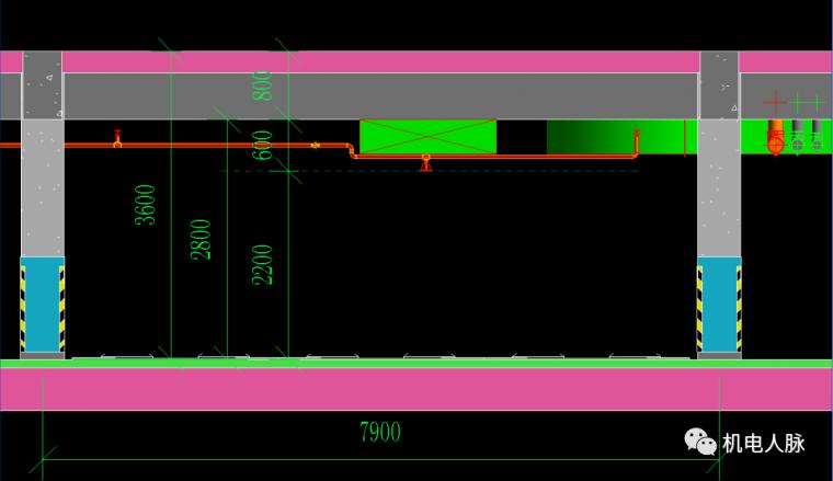 BIM案例解析,地下车库层高3400的可行性_2