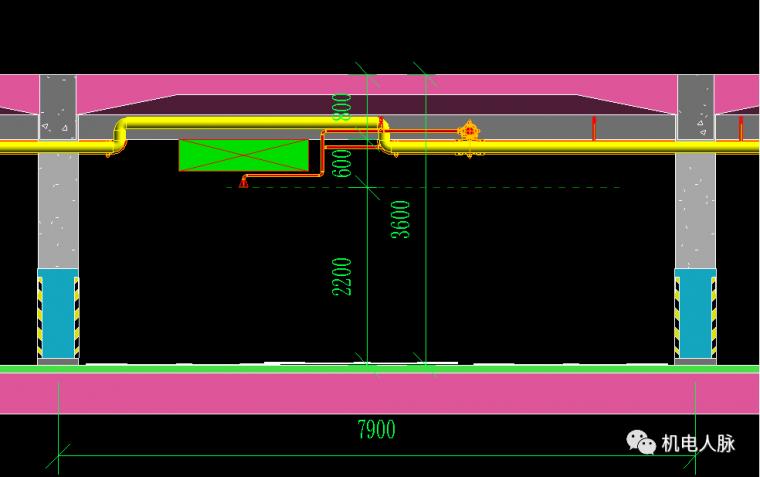 BIM案例解析,地下车库层高3400的可行性_5