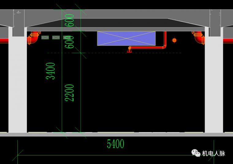 BIM案例解析,地下车库层高3400的可行性_9