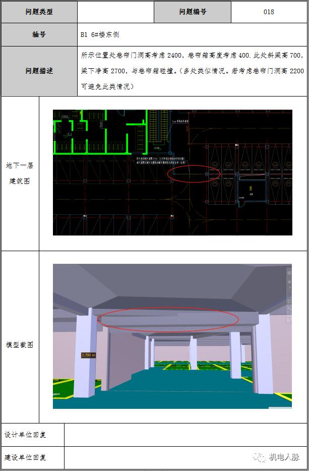 BIM案例解析,地下车库层高3400的可行性_13