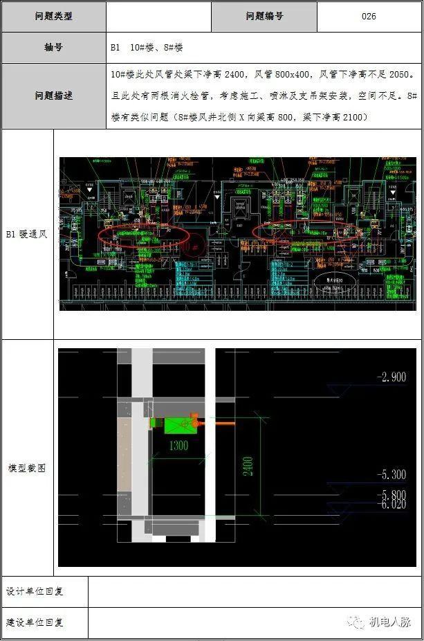 BIM案例解析,地下车库层高3400的可行性_14