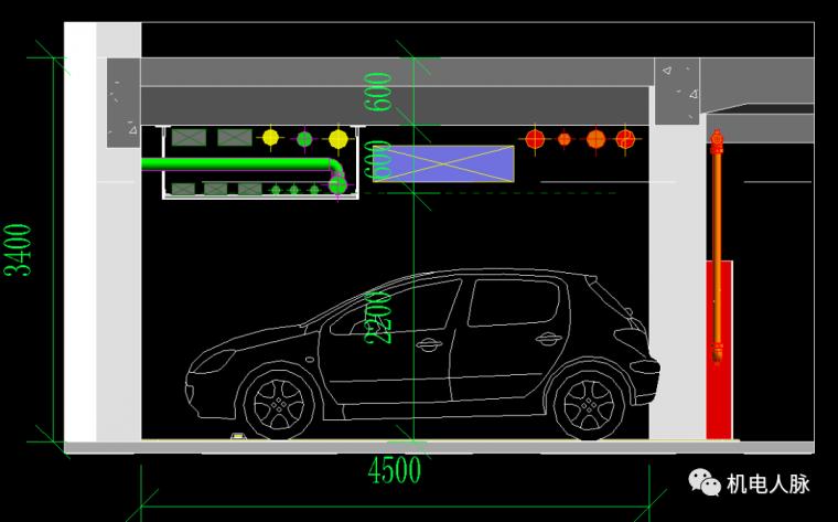 BIM案例解析,地下车库层高3400的可行性_17