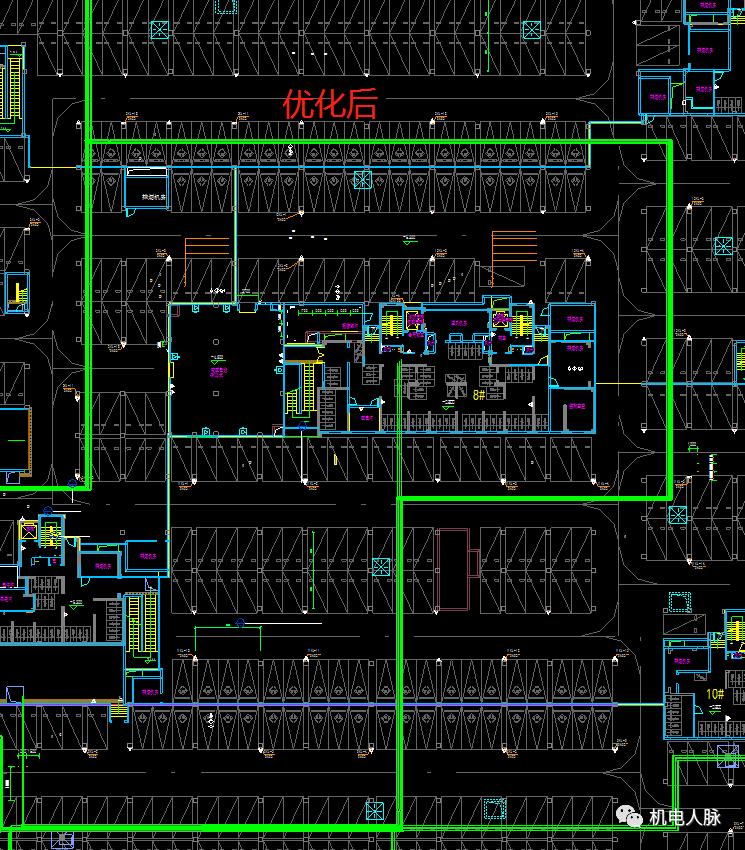 BIM案例解析,地下车库层高3400的可行性_19