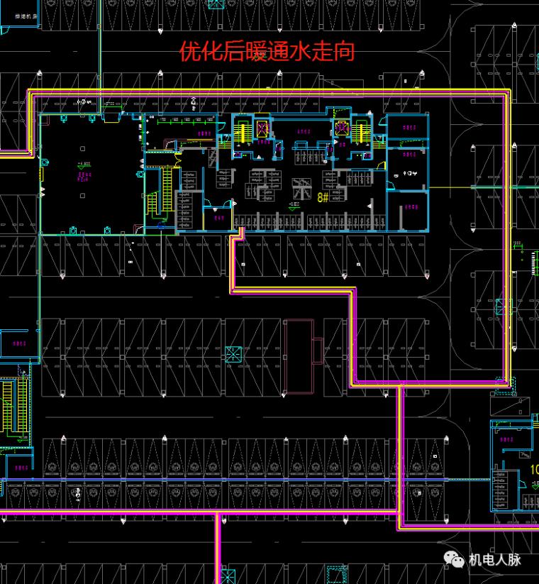 BIM案例解析,地下车库层高3400的可行性_20