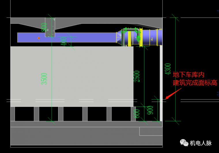 BIM案例解析,地下车库层高3400的可行性_26