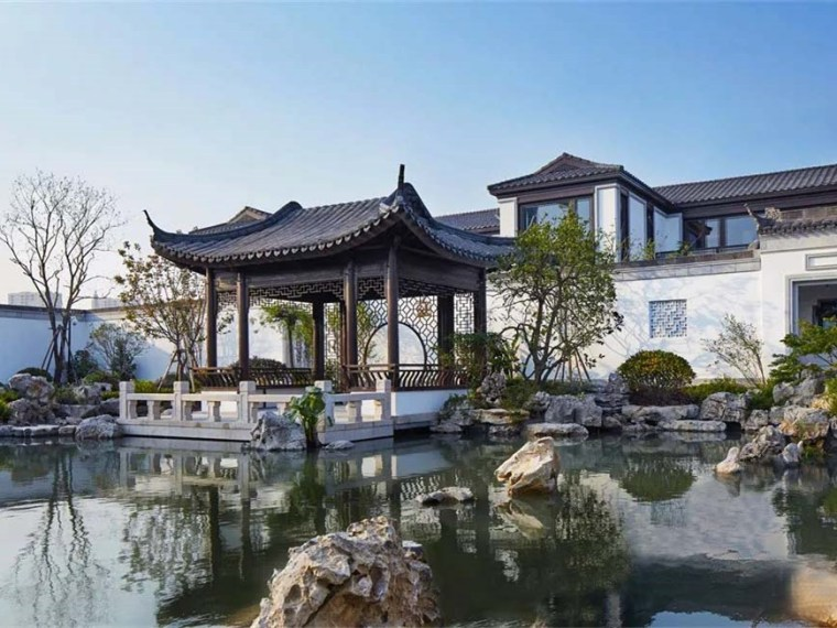 温州乐清融信中能·海月清风示范区景观_1