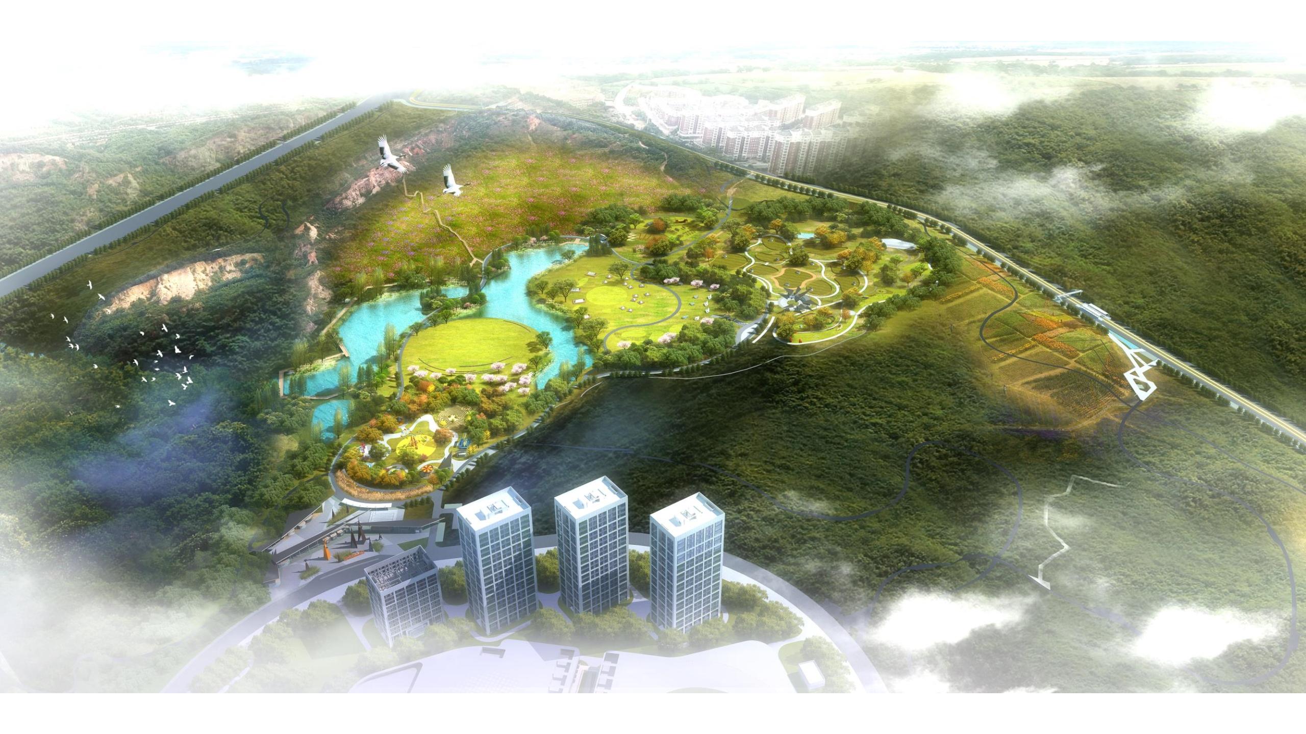 旅游小镇山体公园设计方案