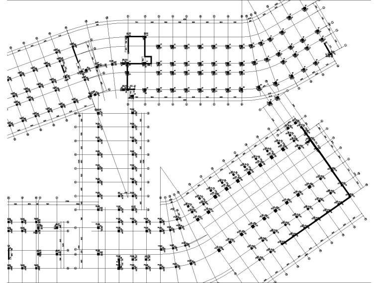 高层框架剪力墙教学楼结构施工图2018,150张_3