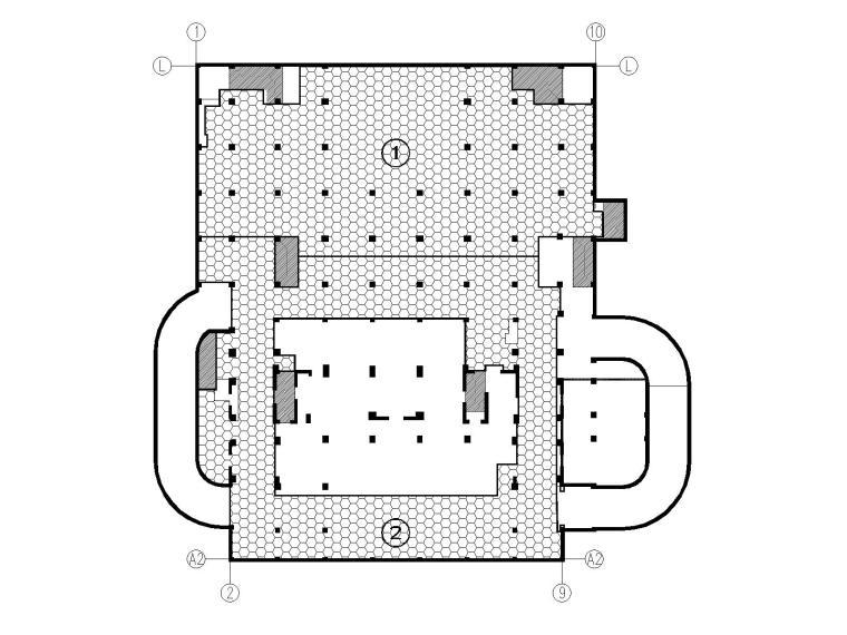 高层框架剪力墙教学楼结构施工图2018,150张_6
