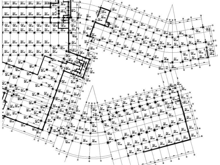高层框架剪力墙教学楼结构施工图2018,150张_5