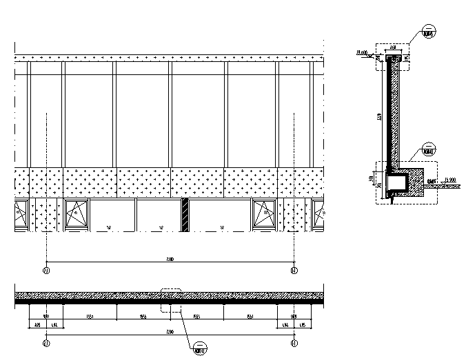 某高层公寓外立面幕墙施工图CAD_5