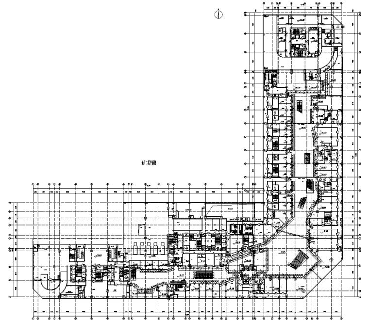 某商业街二层商业幕墙施工图CAD含详细节点_1