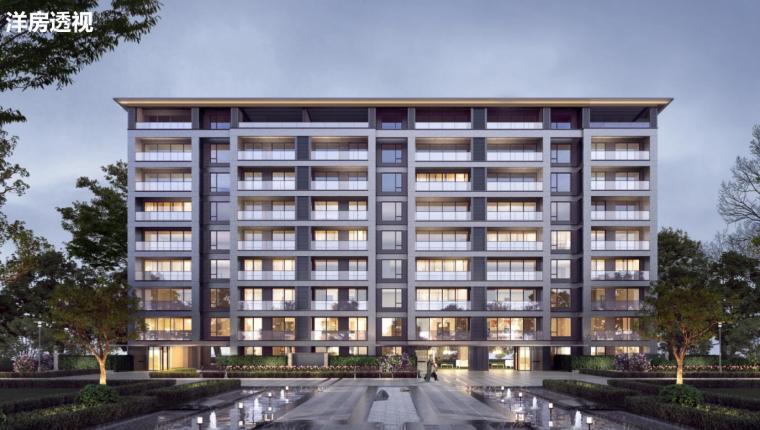 [福建]现代化大花园+宽居住宅建筑概念方案_2