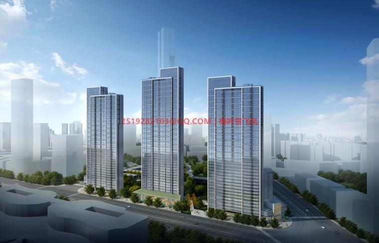 [武汉]现代典雅高层住宅设计模型SKP(gad)_5