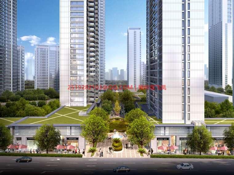 [武汉]现代典雅高层住宅设计模型SKP(gad)_6