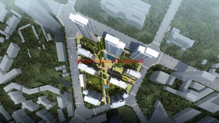 [武汉]现代典雅高层住宅设计模型SKP(gad)_2