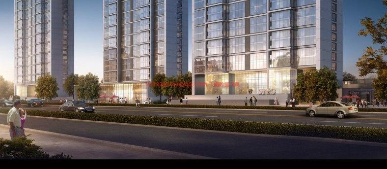 [武汉]现代典雅高层住宅设计模型SKP(gad)_9