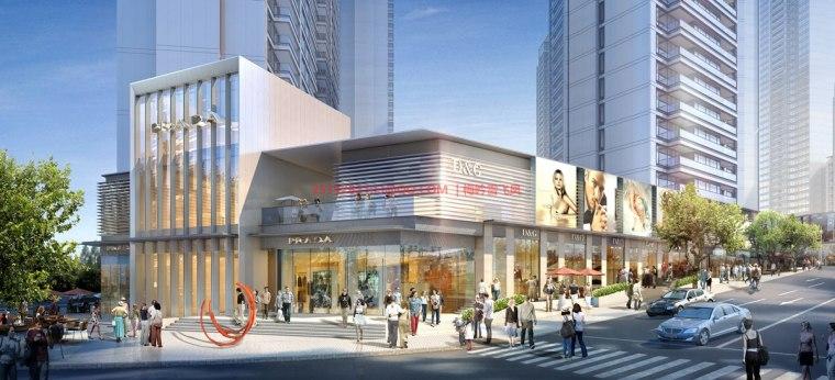 [武汉]现代典雅高层住宅设计模型SKP(gad)_7