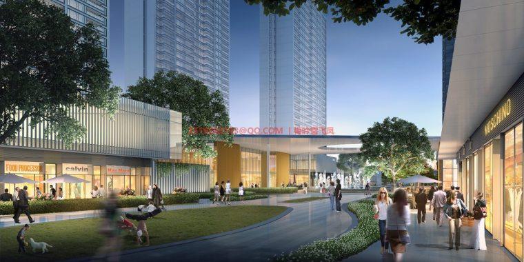 [武汉]现代典雅高层住宅设计模型SKP(gad)_8
